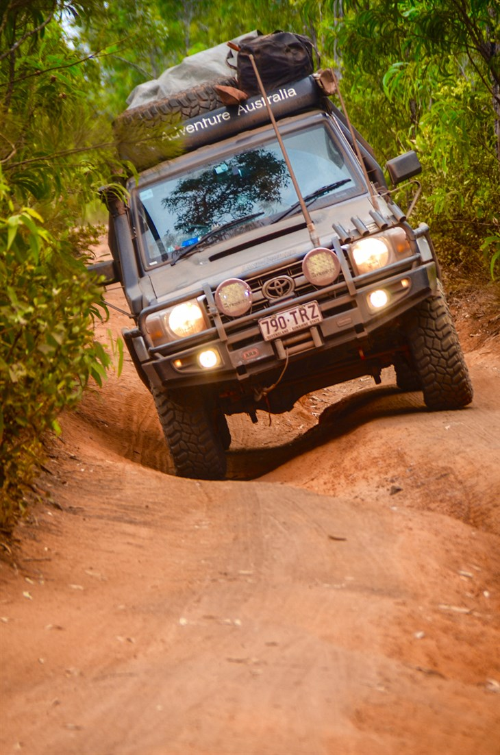 ADVENTURE AUSTRALIA ON COOPERS STT PROS CAPE YORK