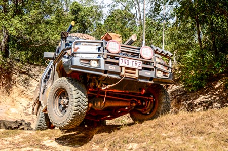 COOPERTIRES DISCOVERER STT PROS – IN ACTION CAPE YORK