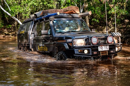 ROCKY BASED WATER CROSSINGS NUMEROUS ON CAPE YORK