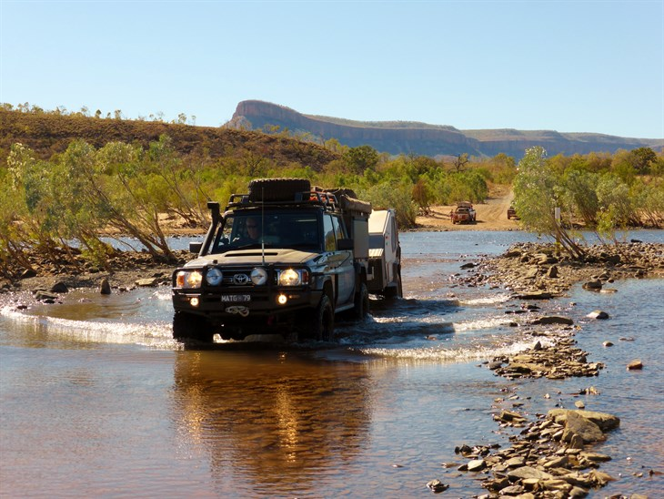 Pentecost River Crossing