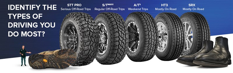 TREAD LINE UP