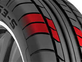 Asymmetric Tread Design