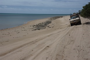 12-beach run at Cape Melville can be tricky at times - Cooper Tires Australia