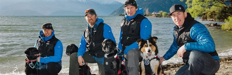 New Zealand Aspiring Avalanche Dogs