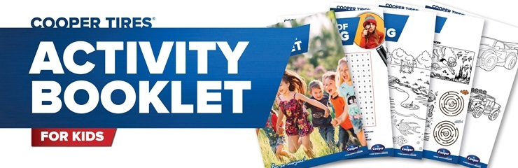Cooper Tires® Activity Booklet